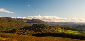 Glenfeshie Hills from Ord Ban